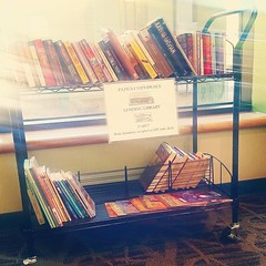 PennState Hershey Medical Center is a fantastic hospital for so many reasons (including literally SAVING my life FIVE times ), and now there's another reason: carts of books are stationed around the hospital (including in the ER waiting room an (Jenn ) Tags: ifttt instagram