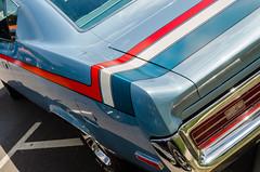Rebel yell (GmanViz) Tags: gmanviz color car automobile detail nikon d7000 1970 amc rebel themachine fender bumper taillight chrome stripes