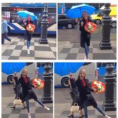 I always have fun! (stanbstanb) Tags: lomics comics dailylife life always beautiful bouquet flowers street