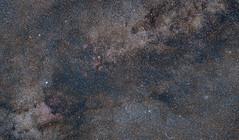 Cygnus panorama (John Hudson Photo) Tags: cygnus constellation deepsky astro astronomy astrophotography canon ioptron 85mm nightsky space universe longexposure