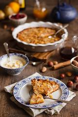 IMG_2821_exp (Helena / Rico sin Azcar) Tags: frutossecos almond pear peras cake tarta frangipane