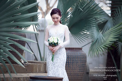 WEDDING SHOOT (La Gallery Studio) Tags: body art more sun derect hot model hody white black bw vintage blend retouching end high bikini professional new elle happer bazza teen girl gril flare flash light 2015 color le like nude fashion beauty wedding album pre chn dung ngi