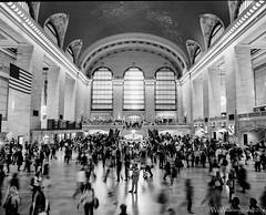 Grand Central (WWashington) Tags: film pentax67 kodak tmax400 newyorkcity manhattan monochrome bw grandcentralterminal