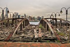 NYC view. (MoArt Photography) Tags: berndspeck jerseycity newyork centralrailroadofnewjerseyterminal
