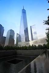 One World Trade Center (dangaken) Tags: fall2016 2016 worldtradecenter wtc oneworldtradecenter freedomtower lowermanhattan manhattan nyc newyorkcity groundzero 911 september11 memorial 911memorial