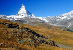 Matterhorn in the Swiss Alps (` Toshio ') Tags: toshio matterhorn switzerland swiss swissalps suisse mountain alps europe european fujixe2 xe2 hiking church landscape montecervino montcervin