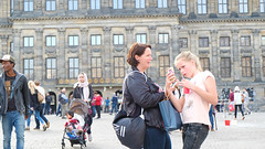(Lin ChRis) Tags: amsterdam dam  holland netherlands   trip travel people take tourist square  joy happy