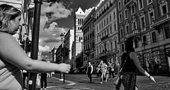 Left right. (Baz 120) Tags: candid candidstreet candidportrait city candidface candidphotography contrast street streetphoto streetcandid streetphotography streetphotograph streetportrait streetfaces rome roma romepeople romecandid romestreets monochrome monotone mono blackandwhite bw urban noiretblanc voigtlandercolorskopar21mmf40 life leicam8 leica primelens portrait people unposed italy italia girl grittystreetphotography flashstreetphotography faces flash decisivemoment strangers