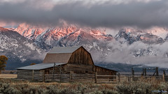 John Moulton Barn - Grand Teton National Park (Jim Frazee) Tags: mormonbarn jacksonholewy