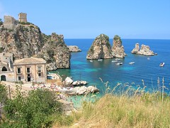 Tonnara di Scopello - Sicily (FedeFli) Tags: sicily sicilia italia italy sea seaside beach sky blue summer travel