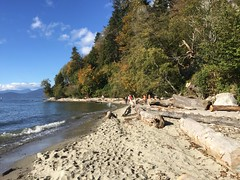 THANKSGIVING DINNER @ Wreck Beach (Pierre♪ à ♪VanCouver) Tags: naturist naturists wreckbeach vancouver thanksgiving nude