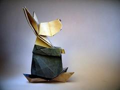 Bunny - Ryan Dong (Rui.Roda) Tags: origami papiroflexia papierfalten conejo coelho lapin rabbit bunny ryan dong