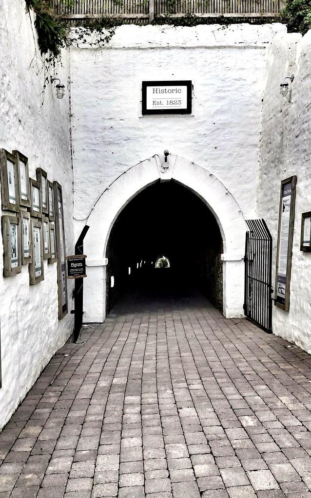 Beach tunnels Ilfracombe.