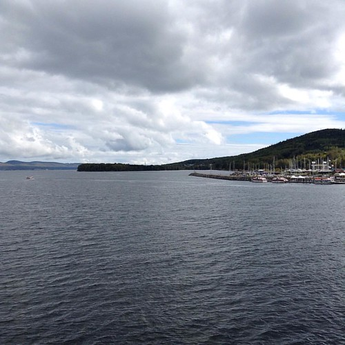 Another view from the cruise terminal in Gaspé