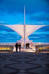 Calatrava (Thomas Hawk) Tags: america milwaukee milwaukeeartmuseum santiagocalatrava usa unitedstates unitedstatesofamerica wisconsin architecture fav10 fav25