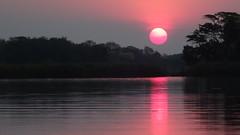 Sunset at Okavango Delta, Botswana - Sept 2016 (Keith.William.Rapley) Tags: botswana rapley keithwilliamrapley september2016 ockavango ockavangodelta delta sunset goldensunset water river