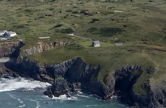 Ligger House on Penhale Point - Cornwall aerial image (John D F) Tags: liggerhouse penhalepoint penhalesands cornwall coast aerial aerialphotography aerialimage aerialphotograph aerialimagesuk aerialview perranzabuloe penhale