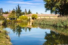 Canal de Castilla (cvielba) Tags: canaldecastilla esclusas fromista palencia reflejos