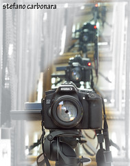 selfie (stefanocarbonara) Tags: selfie canon canon70d specchi mirrow autoscatto photo camera photoshop