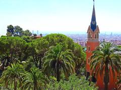 Park Gell (III) - Barcelona (jackfre 2) Tags: catalunya spain park barcelona parkgell antonigaudi gaudi terracedarea mosaics tiles colours