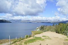 Laguna de Tota (Tato Avila) Tags: colombia colores clido cielos boyac laguna lagunadetota tota agua aguas vida naturaleza nubes