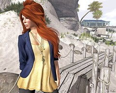 Feeling Like A Fish Out Of Water... (Maci Restless) Tags: mandala noodles exile saltwater slink izzies dontfreakout pinkoutfitters colormehof thesecretstore maxigossamer fameshed sldisneybound