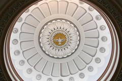 Cathedral Ceiling with Holy Ghost (Jim, the Photographer) Tags: catholic cathedral roman basilica baltimore assumption bvm
