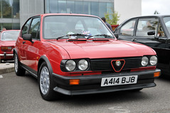 Brooklands Italia day 2013 - Alfasud (jamesst1968) Tags: italia ferrari lamborghini brooklands italiaday