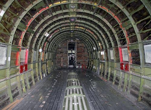 Douglas C-47B - DC-3C  (N105CA) (44-48456) Cargo Cabin FWD