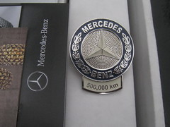 Mercedes Benz 500,000 km Award (sixty8panther) Tags: cars emblem one star mercedes benz 1 automobile quality free award victory grill complementary number wreath ornament chrome german badge mercedesbenz excellent grille endurance tough km brightwork perseverance venerable w123 durable daimlerbenz 500000 theydontmakethemliketheyusedto nocompromise w126 madeinwestgermany builtlikeatank highmiles wellbuilt highmileageaward mercedesbenzusa bestornothing 500000kilometers 500000kilometer
