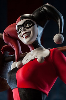 SIDESHOW 1/4 小丑女Harley Quinn 雕像