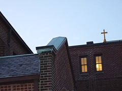 678_Chapel Roof and Cross (jannetie) Tags: park railroad trees sunset red brick green water train reflections garden newjersey twilight cross pennsylvania bricks wroughtiron traintracks lawn bank trains stainedglass nuns monastery smokestack crucifix tugboat slate convent barge stmaryschurch redoak hilltop roadwork brickwork churchst mercercounty delawareriver flemishbond yachtclub railroadtracks barges methodistchurch paddlewheeler railroadtrestle assistedliving slateroof presbyterianchurch etchedglass crosswickscreek burlingtoncounty pennsylvaniarailroad trentonnj duckisland stmarysschool firehousegallery seniorliving bordentownnj poorclare lockkeepershouse englishbond poorclares burlingtonst delawareandraritancanal farmersandmechanics farnsworthave firstlock yapewiaquaticclub farnsworthavenue appshardware boatclubhouses juanitacrosby crosswicksstreet