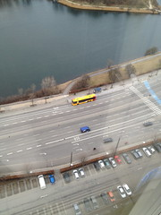 Tiny cars and a bus (kmardahl) Tags: copenhagen boulevard thediningroom amager