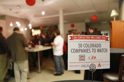 Photo - Zia Consulting Colorado Companies to Watch Event