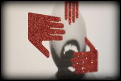 Robert del Naja aka 3D (annar_50) Tags: west london art glitter 3d hands attack massive protection lazarides firesale robertdelnaja lazinc