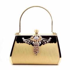 กระเป๋าคลัชออกงาน กระเป๋าถือผู้หญิงแฟชั่นเกาหลีหรูหราเข้าชุดราตรีและงานแต่ง นำเข้า สีทอง - พร้อมส่งIS1004 ราคา1500บาท กระเป๋าถือแฟชั่น สำหรับผู้หญิงที่ต้องสวยครบเซทสีทองอร่ามแบบกระเป๋าแบรนด์ดังต้องกระเป๋าออกงานราตรีสไตล์คลัทช์และกระเป๋าไปงานแต่งงานสไตล์กร