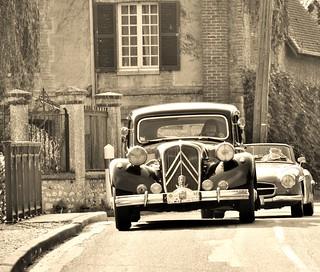 1954 Citroën traction 15/6 familiale
