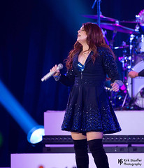 Meghan Trainor @ WaMu Theater (Kirk Stauffer) Tags: show lighting red portrait musician music woman brown cute girl beautiful beauty smile smiling fashion lady female wonderful hair lights photo dance amazing concert model glamour nikon women perfect long pretty tour dress singing dancing sweet bass song feminine live stage gorgeous awesome gig goddess young band adorable pop lips redhead precious sing singer indie attractive winner stunning vocalist tall perform brunette lovely fabulous darling vocals siren grammy kirk petite stauffer glamorous untouchable lovable d4