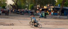 The human spirit (Fortunes2011. Re start) Tags: travel pakistan portrait man smile rural train flickr village spirit wheelchair hero disabled 2351 flickrheroes fortunes2011nikon