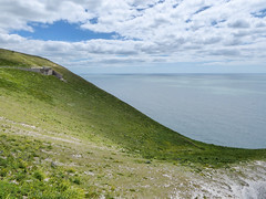 A Long Way Down (Rob Jennings2) Tags: edge isleofwight rocket slope iow theneedles theneedlesbattery rockettesting