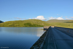 Nant-y-Moch Reservoir and Dam (Coastal Co) Tags: uk water wales landscape scenery reservoir ceredigion 2016 nantymoch cambrianmountains unlimitedphotos