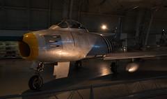 North American F-86A Sabre (gleavesm) Tags: airandspacemuseum northamerican northamericanf86asabre sabre smithsonian smithsoniannationalairandspacemuseum stevenfudvarhazycenter udvarhazycenter
