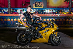 claire mc-18 (Trevor Matthews Photography) Tags: claire mcivor bike rock chick guitar motorbike suzuki daytona sexy girl hot naked nude topless trevor matthews suggestive speaker ibiza bar wigan model