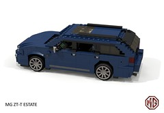 MG ZT-T Tourer (lego911) Tags: mg zt ztt tourer v8 260 estate wagon auto car moc model miniland lego lego911 ldd render cad povray uk england english rover group ford modular lugnuts challenge 106 exclusiveedition limited exclusive special edition