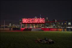 M1008521 (Damien DEROUENE) Tags: damienderouene leica m240 28mm night understanding brooklyn skyline newyork light red nyc people art