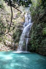 veadeiros III (F. Carvalho) Tags: chapadadosveadeiros cavalcante gois cachoeira waterfall blue azul natureza nature outdoor green brasil brazil paradise paraso cachoeirasantabrbara