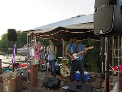 Turtle Recall at Dusk (procktheboat) Tags: lakethoreau boatparty boatbash restonvirginia restonva turtlerecall music outdoorconcert