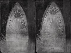 Iron-7626 (Poetic Medium) Tags: moldiv stilllife blackandwhite kitcamghostbird blender mextures snapseed texture ipod diptych