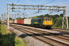 86610 Acton Bridge, Cheshire (DieselDude321) Tags: 86610 class 86 freightliner acton bridge cheshire 4k64 1146 garston flt crewe basford hall ssm