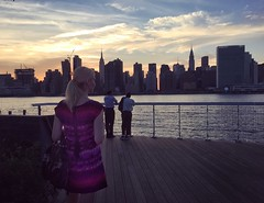 NYC skyline at sunset (Jacci Jaye) Tags: jaccijaye sunset nyc newyork skyline nycskyline manhattan lic stylist fashionstylist nycfashionstylist cityview newyorker cityscape ny city skyscrapers dress summer summerdress nycstyle nycfashion wallstreetstylist travel